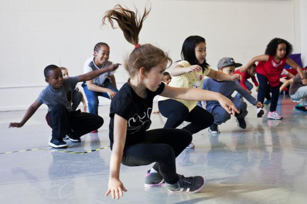 Workshop Kidsdance  Hasselt.