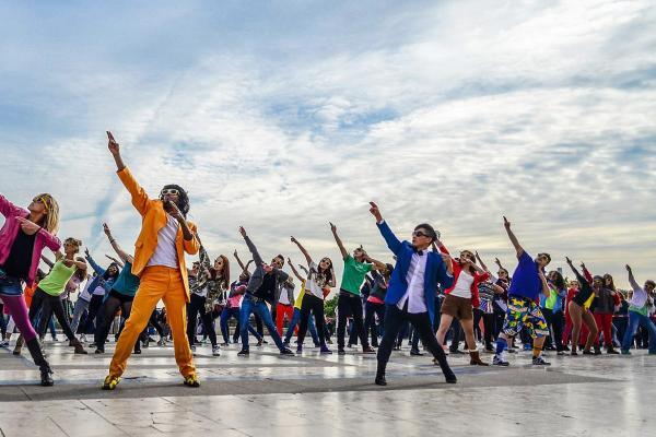 De leukste activiteit met de flashmob workshop i n Hasselt!